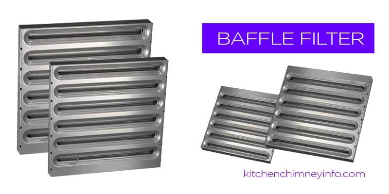 Chimney Baffle Filter -Kitchen Chimney | Kitchen Hood- KitchenChimneyinfo.com