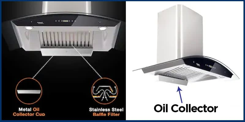 Oil Collector - Kitchen Chimney Info