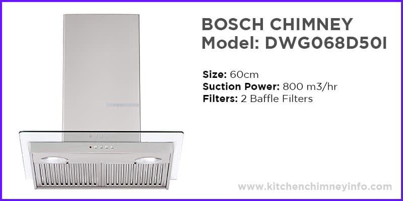 bosch kitchen chimney
